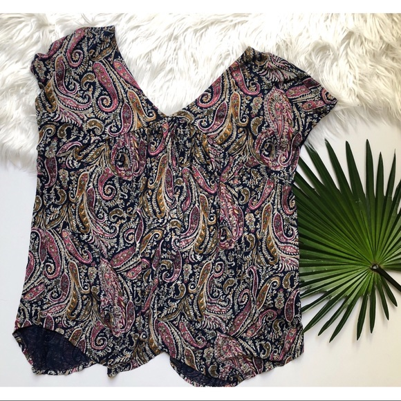 Lucky Brand Tops - [Lucky Brand] Paisley Top